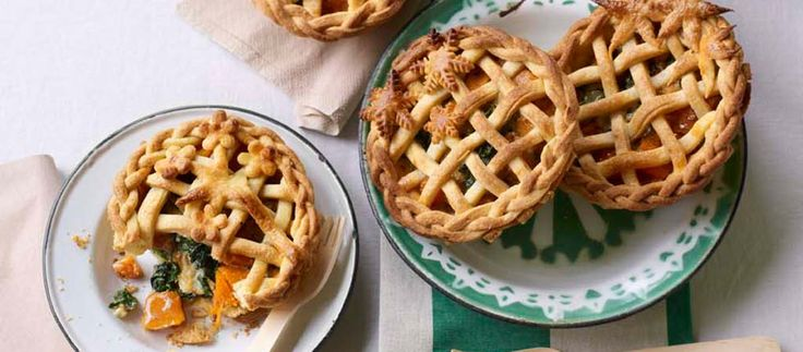 Sophie's Four Seasons Individual Pies – from The Great British Bake Off
