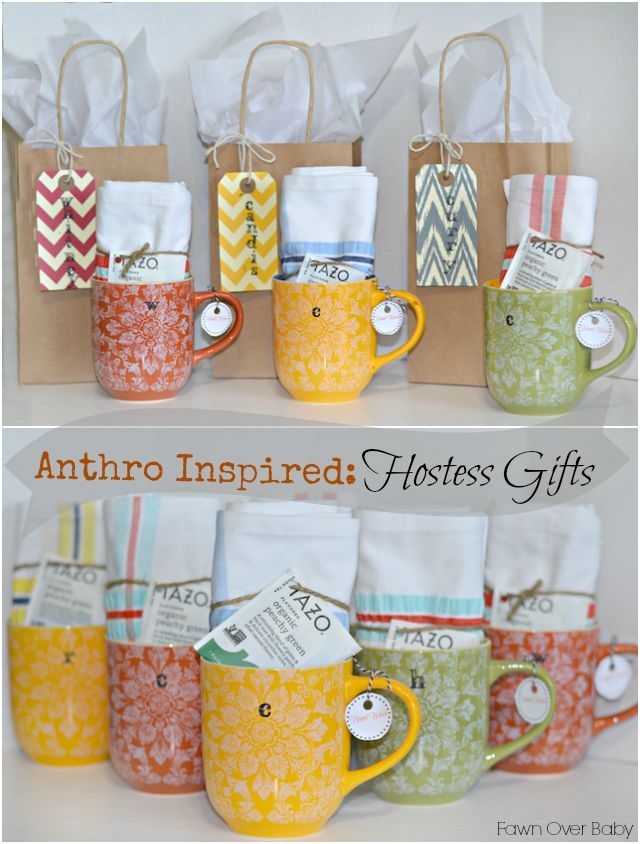 Unique Bridal Shower Hostess Gift Ideas : DIY: Anthro-Inspired Baby Shower Hostess Gifts /Fawn Over Baby