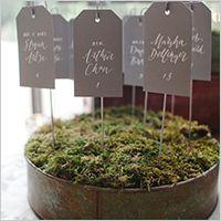 自分たちで作る!結婚式用の手作り席札でおもてなし婚を成功させるアイデア | Weddingcard.jp