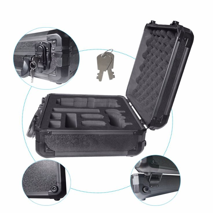 >> Click to Buy << New Arrival Case Aluminum Outdoor Carry Box for DJI Mavic Pro RC Drone with Camera Protector FPV Spare Parts black color #Affiliate
