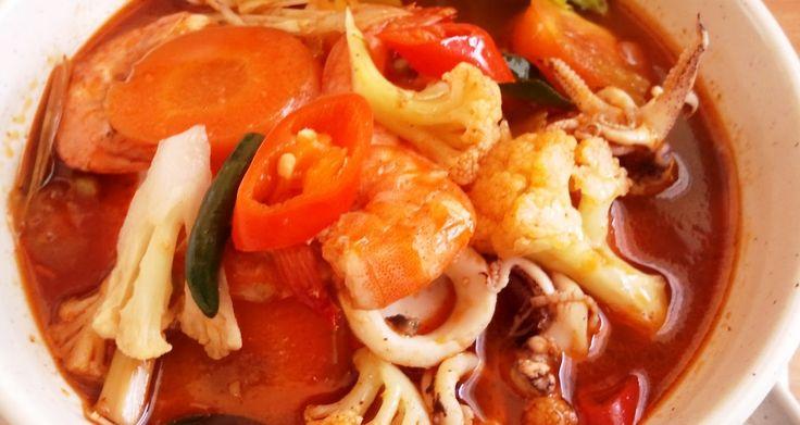 Tomyam Thai Pekat - Resepi Mudah dan Ringkas