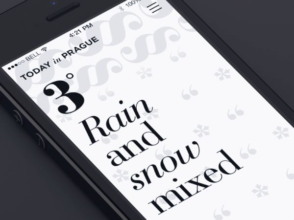 Mobile UI animation (symbols)