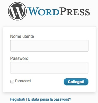 Login WordPress con la Mail