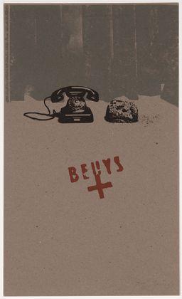 Joseph Beuys. Earth Telephone. 1973