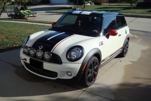 3 color Mini Cooper S Rally Racing Stripes stripe decals decal graphics kit