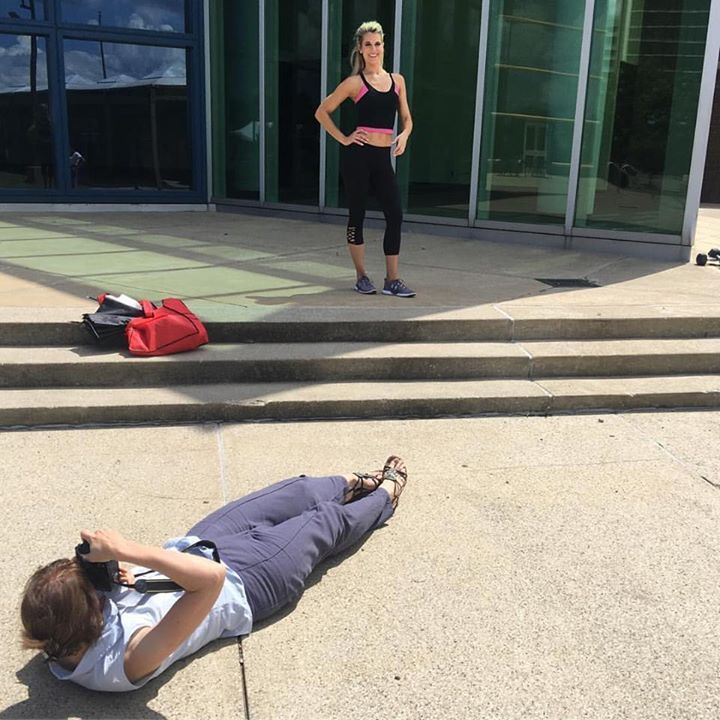 "We're getting ready for our ""Healthy Bodies"" issue hitting the stands on Monday. #bts #fitness #healthy #lovelylady  #simplylovelylady  #ladyaccessary  #ladyscarf"