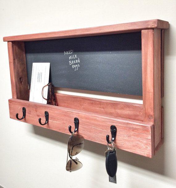 Rustieke houten sleutelhanger schoolbord Foto door cherrytreegallery