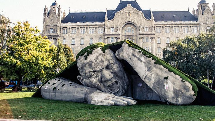 This Enormous Man Emerging From The Earth Is a Sculpture, Not Your Nightmare | Co.Create | creativity + culture + commerce