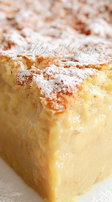 Banana Magic 3 Layer Custard Cake
