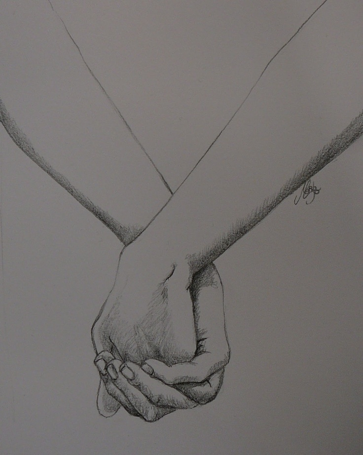 Mariannes Blogje - drawing of hands