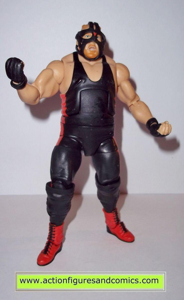 Wrestling WWE action figures BIG VAN VADER series 3 flashback mattel toys wwf wcw