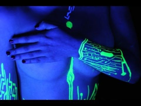 Tattoo fonts - Best neon tattoo ideas Full article: http://etattoofonts.com/2014/03/03/neon-tattoos