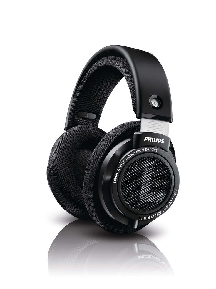 Philips SHP9500- Budget open back headhones with solid design.