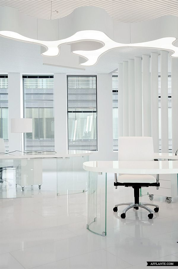 Office Interior in Business Complex 'White Square' // Mossine Partners | Afflante.com