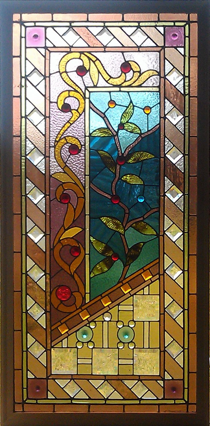 cool mix - Antique American Stained Glass Windows