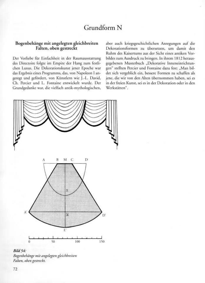 classic swag & jabot pattern sheet