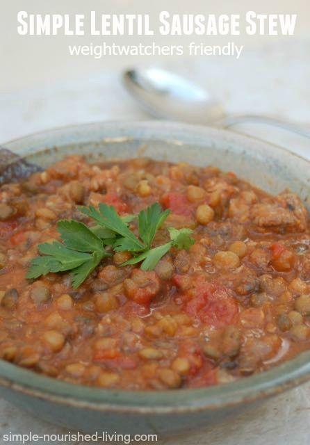 lentil soup diet weight loss