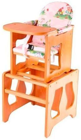 Пмдк Стол-стул премьер лдсп светлый орех (клеёнка) (полянка)  — 1958р.  Стол-стул для кормления Премьер Удобный и функциональный стульчик для кормления. Легко трансформируется в столик и стул для малыша. Для создания высокого стульчика для кормления вам нужно установить  малый стул на столик. Стульчик устойчив и не опрокидывается. Края сглажены и безопасны для ребенка. 3-точечные ремни безопасности. Удобный съемный моющийся чехол из непромокаемой бязи. Высота от пола 52 см. Рекомендована для…