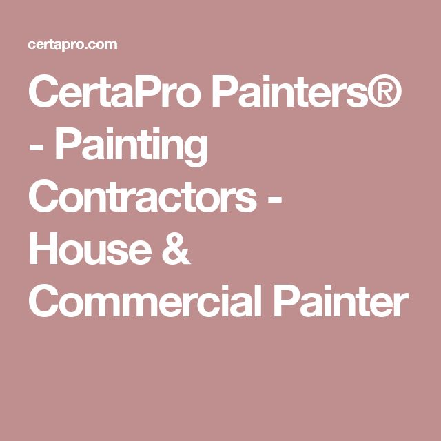 Best 25+ Commercial painting contractors ideas on Pinterest - professional painter sample resume