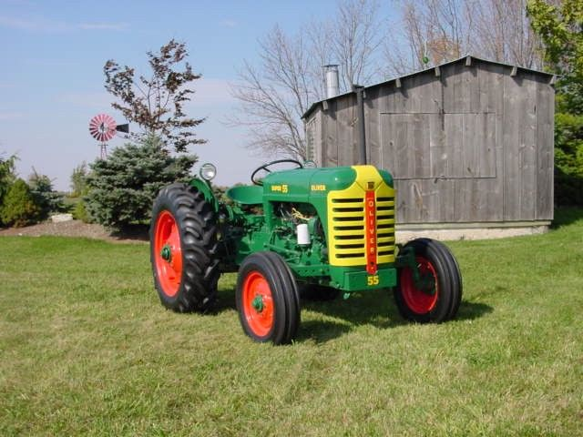 "This is an 'Oliver Tractor"" - Jamie should get for his farm - it even comes from Essex - albeit Essex, Ontario, Canada!"