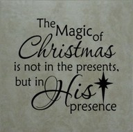 Remember the true meaning of Christmas!