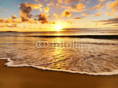 Fotobehang strand | wallprints.be
