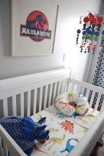 malcolm's mommy: Malcolm's Dinosaur Nursery
