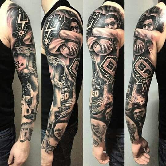 San Antonio Spurs tattoo