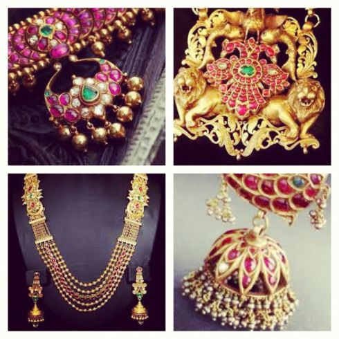 south indian temple jewellery