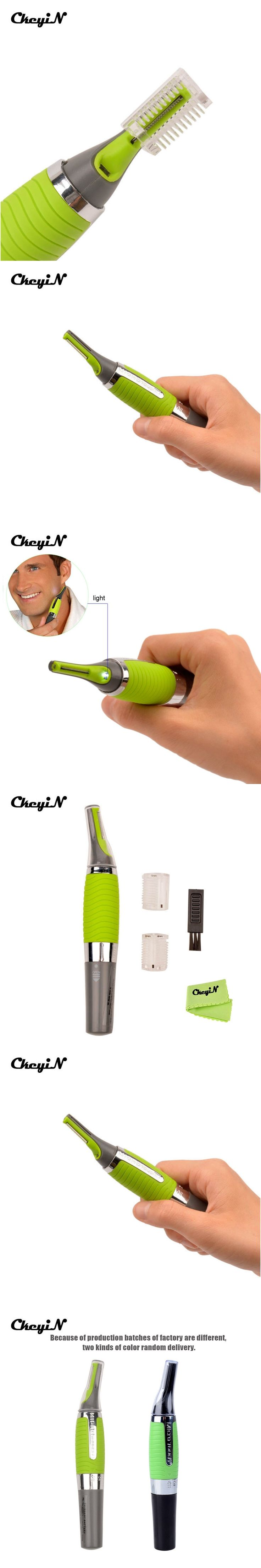 Men Trimmer Shaver Personal Shaving Hair Removal Nose Hair Trimmer Clipper Remover Eyebrow Ear Razor Face Care Facial Cleaner