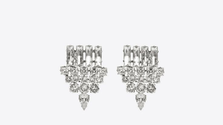 Smoking Earrings by Yves Saint Laurent ➤ Discover more luxury lifestyle news at www.covetedition.com @covetedition #covetedmagazine @covetedmagazine #luxurylifestyle #yvessaintlaurent @ysl