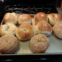 recipe real homemade bagels