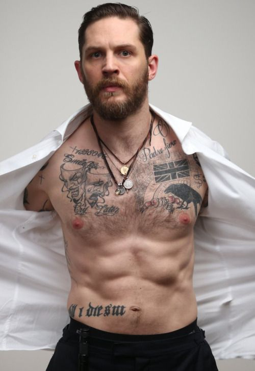 tom hardy tattoos - Google Search | apparel | Pinterest ...