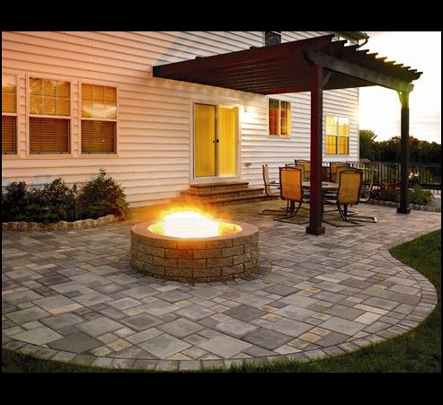 Patio Idea! I like this one.