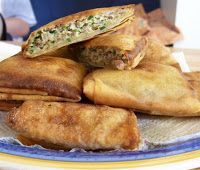 Original Indonesian Recipe: Martabak Telor (Deep Fried Beef Rolls)