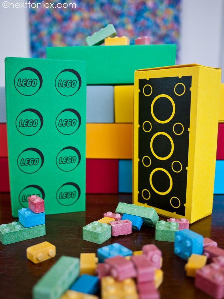 Caixa de guloseimas Lego