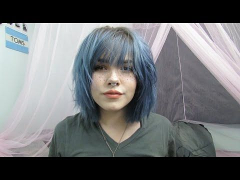 how to cut your own hair bob youtube