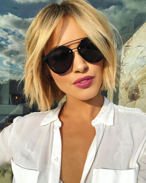 30 Modern Short Layered Haircuts Ideas 2019 – Page 19 of 30 – HAIRSTYLE ZONE X #…