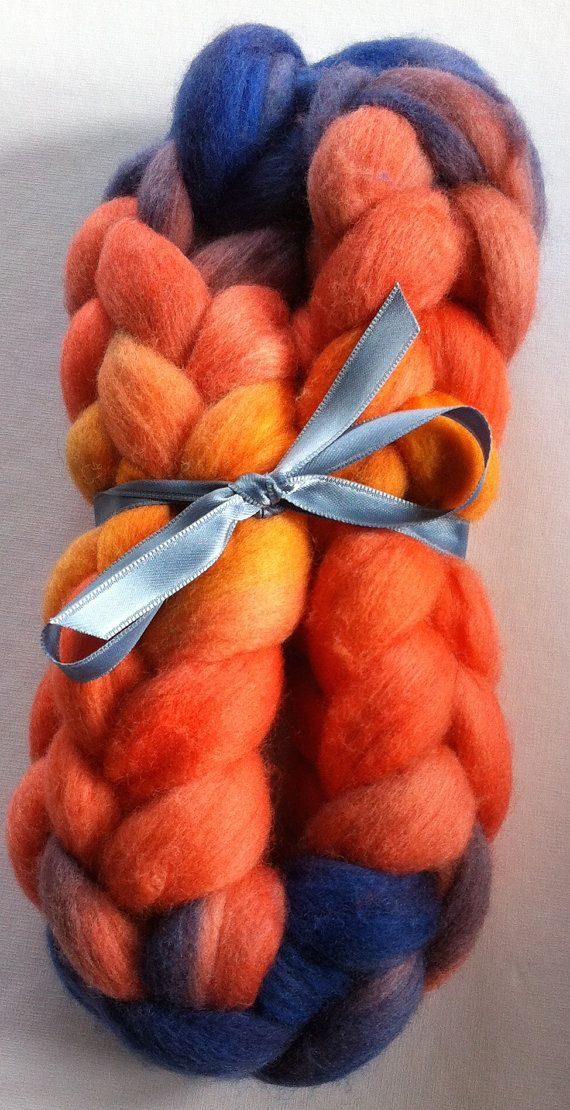 Storm is coming  Merino Spinning fiber by Ulljente on Etsy