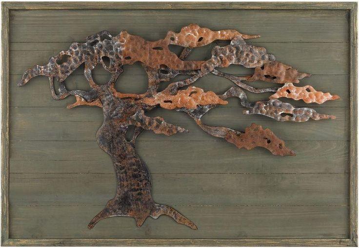 Wood & Metal Tree Wall Art