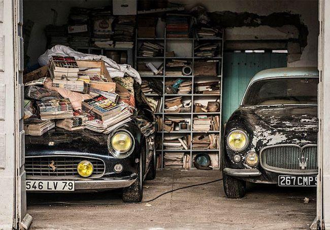Kolekcja starych modeli samochodów została odnaleziona przez spadkobierców francuskiego milionera w stodole. Samochody warte setki milionów trafią na początku roku na aukcję.