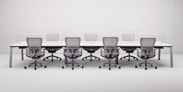 Una sala de reuniones al estilo Haworth