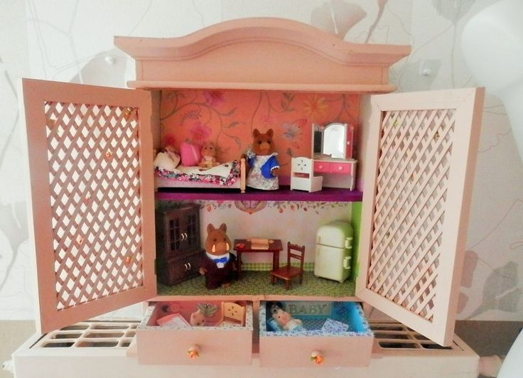 304 best images about mon monde sylvanian families on for Sylvanian chambre parents