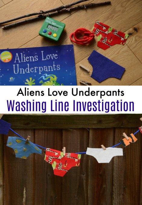 Aliens Love Underpants Science Investigation