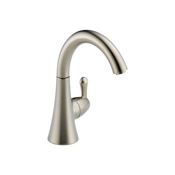 Delta 1977-SS-DST Transitional Single Handle Beverage Faucet - Stainless Steel $137