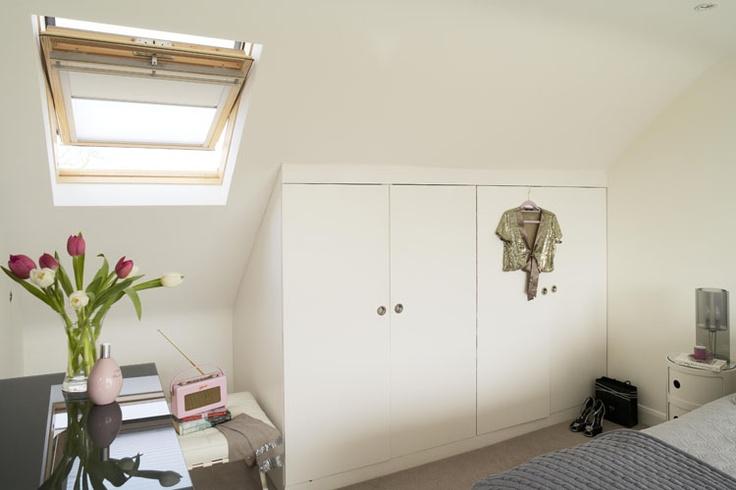 Nice attic storage