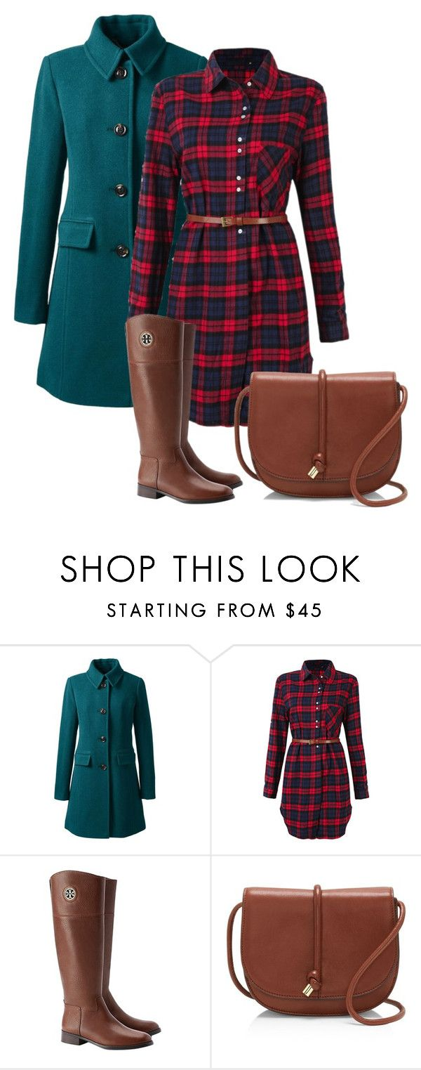 """""""Untitled 17"""" by havlova-blanka on Polyvore featuring Lands' End, Tory Burch and Vince Camuto"""