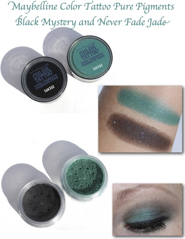 Maybelline Color Tattoo Pure Pigments Black Mystery