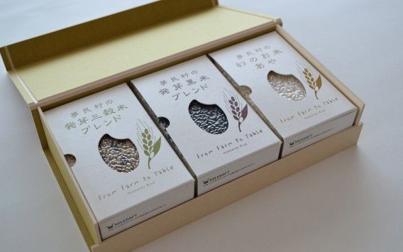 From Farm to Table / Eco-Friendly Rice Package บรรจุภัณฑ์นิสัยดี お米のギフトパッケージ