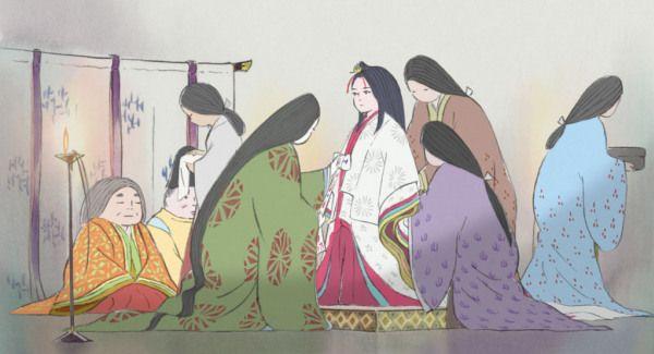 Kaguya, Le conte de la princesse kaguya, Isao Takahata, critique, technique de dessins, art de la princesse kaguya, critique, impressions, avis